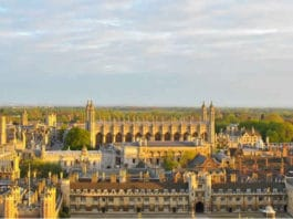la città di cambridge
