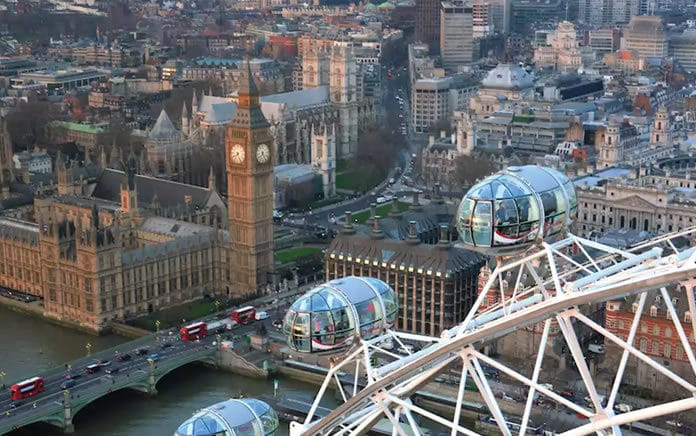 visitare il london eye